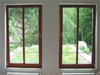 Holzfenster innenansicht  Fenster